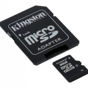 Kingston 8 GB SD Kaart