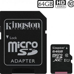 Kingston 64 GB SD Kaart