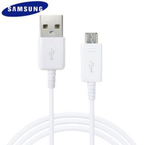 Samsung Originele micro USB Kabel - WIT