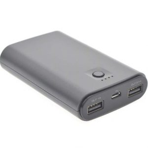 UNIQ Accessory 7500 mAh Soft Touch Powerbank - Grijs